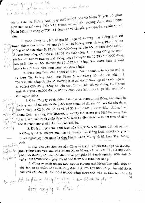 Hà Nội: Vụ án lạ không giao kết hợp đồng vẫn phải bồi thường? - 8