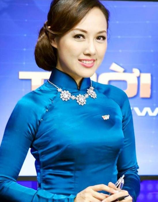 Hoài Anh được đánh giá là một nữ MC ấn tượng và sáng giá