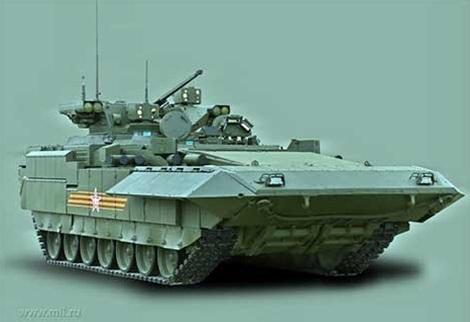 """Nga làm đối thủ sửng sốt khi thử nghiệm xe tăng Armata """"vô hình"""" - 5"""