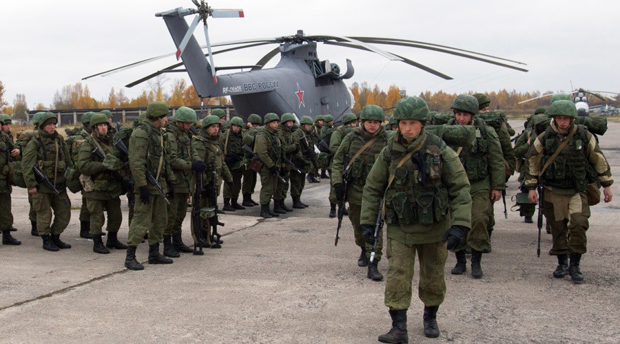 Quân đội Nga. (Ảnh: RT)