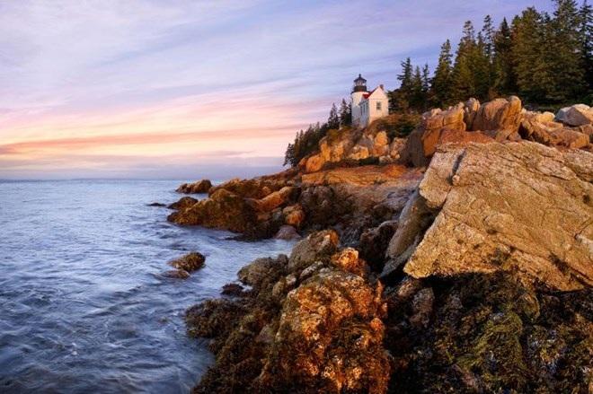 Vịnh Bass Harbor ở công viên quốc gia Acadia. (Nguồn: NatGeo)