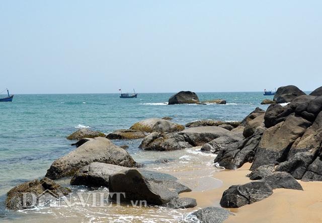 Một trong những khu vực biển để săn bắt nhum