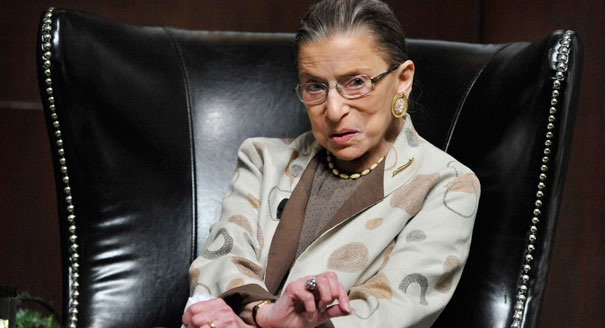 Thẩm phán Tòa án Tối cao Mỹ Ruth Bader Ginsburg