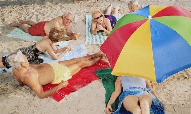 Các bãi biển công cộng luôn là điểm đến ưa thích trong mùa hè