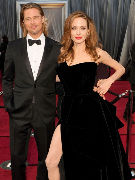 Angelina Jolie ly dị Brad Pitt - 5