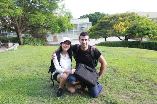 Hà Giang tại Trường Đại học Tel-Aviv