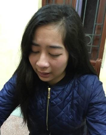 Những giọt nước mắt hối hận của Nhữ Thu Hằng tại nhà tạm giữ Công an quận Đống Đa.