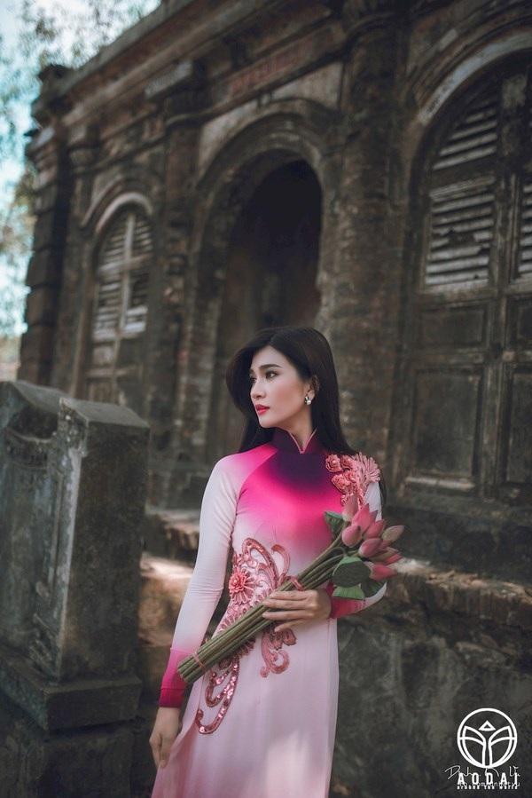 Ngắm thiếu nữ Việt khắp năm châu gợi cảm trong tà áo dài - 3