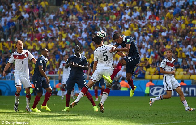 Đức và Pháp đang được đánh giá cao tại Euro 2016