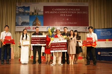 Trịnh Hoàng Nam (Trường Quốc tế Á Châu) từng đoạt quán quân cuộc thi Hùng biện tiếng Anh Cambridge 2012 - đại diện Việt Nam dự thi vòng chung kết tại Vương Quốc Anh và xuất sắc đạt giải nhì cuộc thi dù là thí sinh nhỏ tuổi nhất. Hoàng Nam cũng từng đạt giải nhì cuộc thi HSG Tiếng Anh cấp TP 2013, đạt TOEFL iBT 110 điểm và trong kỳ thi SAT - kỳ thi quan trọng của các học sinh trung học trên thế giới, đặc biệt là các học sinh bản xứ tại Hoa Kỳ - em đã đạt 2.110/2.400 điểm.