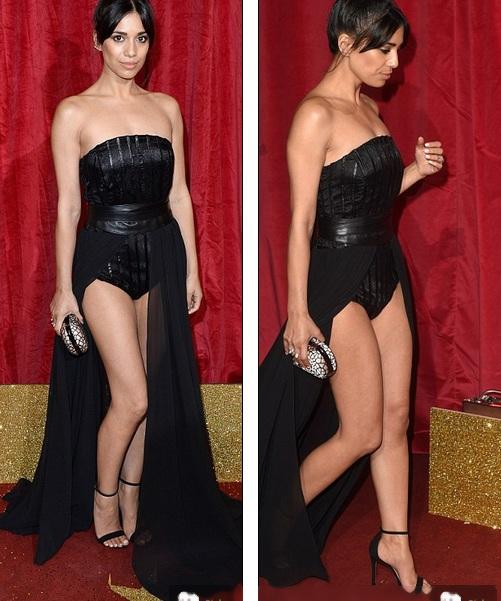 Bộ váy xẻ bạo của Zeynep Kartal giúp người đẹp lộ đôi chân thon thả
