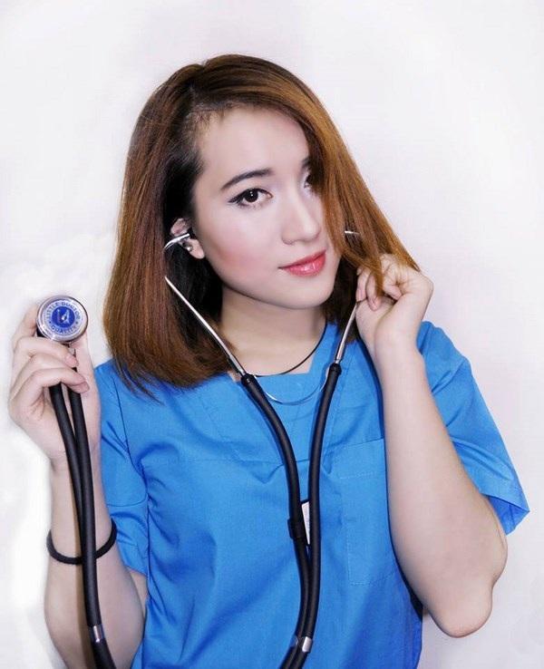 Cô gái xinh đẹp, cá tính Vũ Phương Anh theo đuổi ngành Bác sĩ Nha khoa tại Nga.