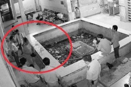 Đối tượng bị lực lượng bảo vệ bắt quả tang khi thực hiện hành vi chuốc thuốc ngủ nạn nhân rồi trộm tài sản