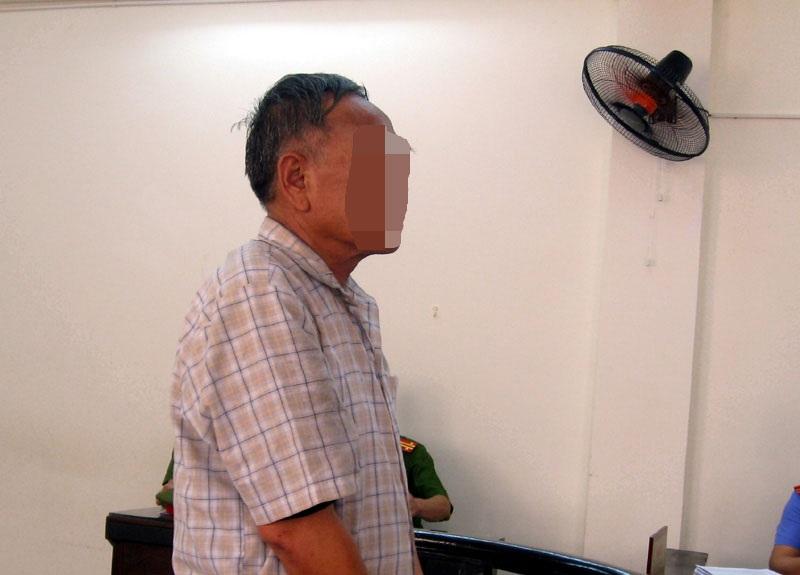 Bị cáo Hà tại tòa