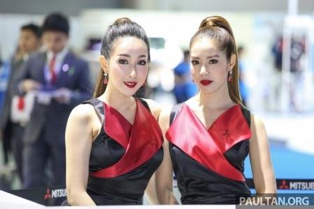 Những cô gái xinh đẹp của Bangkok Motor Show 2016 - 2