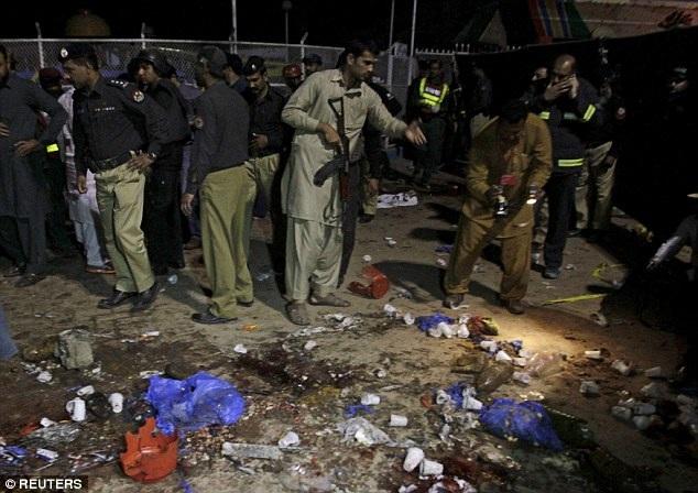 Hãng tin AFP cho biết, vụ đánh bom xảy ra tại công viên Gulshan-e-Iqbal, một nơi khá phổ biến với cộng đồng người Thiên Chúa giáo ở Lahore. (Ảnh: Reuters)