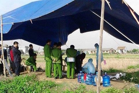 Cơ quan công an khai quật tử thi để điều tra