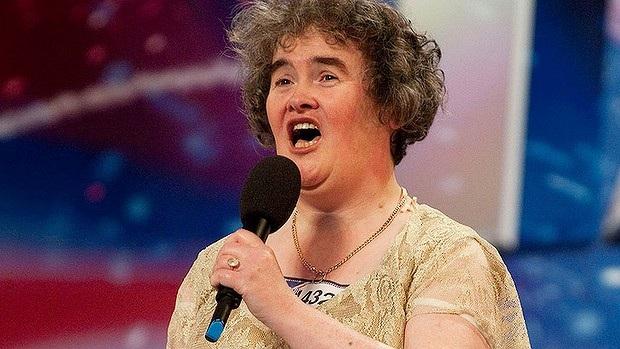 Susan Boyle nổi tiếng từ chương trình Britians Got Talent năm 2009.