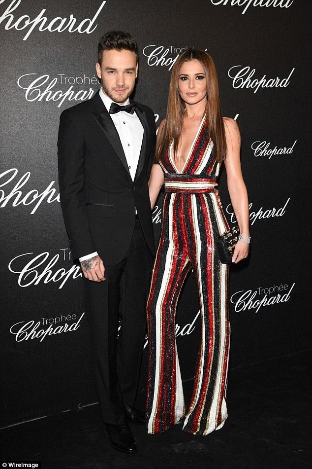 Ca sỹ điển trai Liam Payne đưa bạn gái Cheryl dự sự kiện tại LHP Cannes ngày 12/5 vừa qua