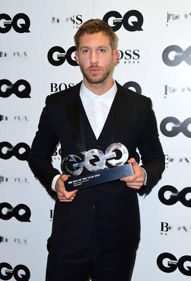 Calvin Harris vừa được vinh danh tại lễ trao giải GQ Men of the Year