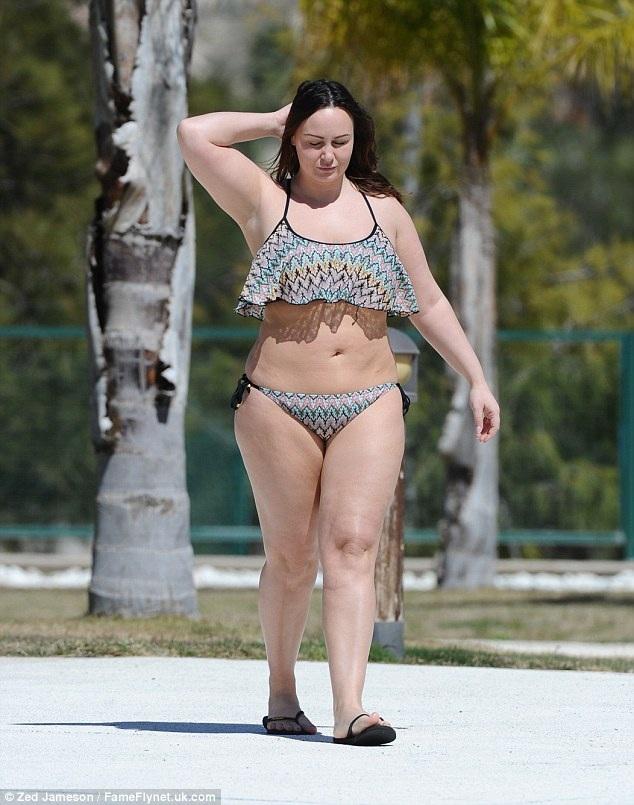 Một vài thời điểm, Chanelle Hayes có thể giảm cân nhưng sau đó cô lại nhanh chóng tăng cân trở lại