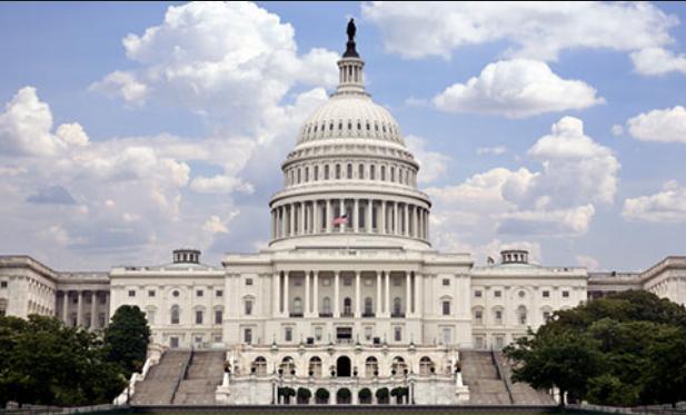 Tòa nhà Quốc hội Mỹ. (Ảnh: Getty)