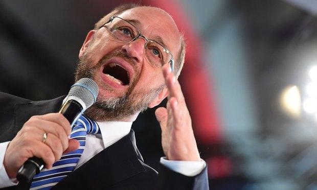 Chủ tịch Nghị viện châu Âu Martin Schulz. (Ảnh: AFP)