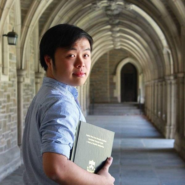 Châu Thanh Vũ, chàng trai từng giành 8 học bổng Tiến sỹ toàn phần Mỹ và hiện đang là nghiên cứu sinh Tiến sĩ ĐH Harvard, Mỹ.