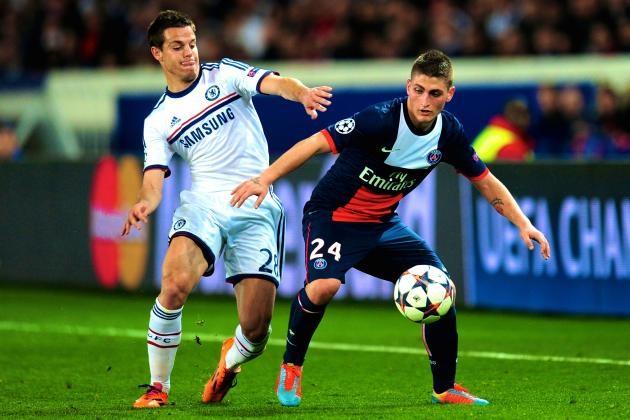 Chelsea hòa 1-1 trước PSG ở Paris vào mùa giải năm ngoái