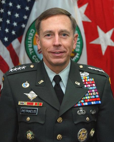 Đại tướng lục quân Mỹ, cựu giám đốc CIA David Petraeus