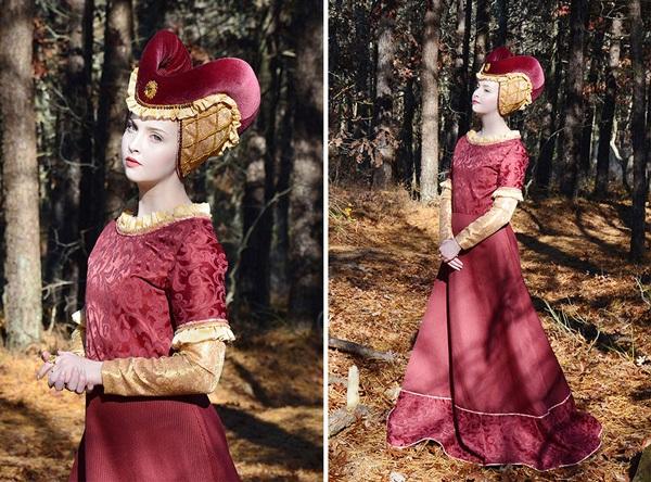 Thiếu nữ 18 tuổi thiết kế trang phục đẹp tựa truyện cổ tích - 4