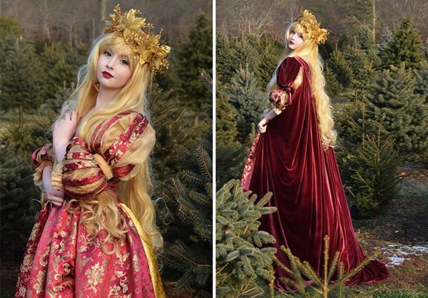 Thiếu nữ 18 tuổi thiết kế trang phục đẹp tựa truyện cổ tích - 9