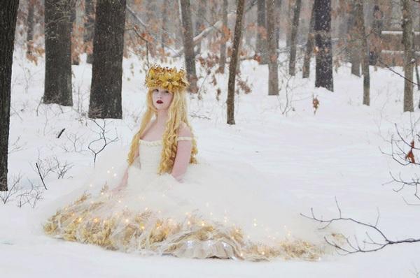 Thiếu nữ 18 tuổi thiết kế trang phục đẹp tựa truyện cổ tích - 2