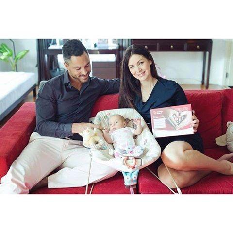 Natalie Glebova hiện đang hạnh phúc bên chồng mới Dean Kelly Jr. , vốn là Nam vương người Panama