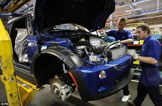 Nhà máy BMW tại Oxfordshire. Nguồn: dailymail