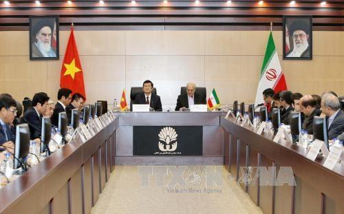 Chủ tịch nước Trương Tấn Sang dự Diễn đàn Doanh nghiệp Việt Nam – Iran - 1
