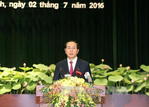 Bài phát biểu của Chủ tịch nước tại Lễ kỷ niệm 40 năm Ngày TP Sài Gòn - Gia Định chính thức mang tên Bác - 1