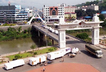 Cửa khẩu quốc tế Lào Cai