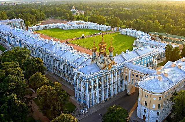 Cung điện Catherine được xây từ thế kỷ 18. (Ảnh: Shanghaiít)