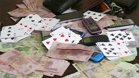 Mọi hình thức đánh bạc đều bị pháp luật nghiêm cấm 