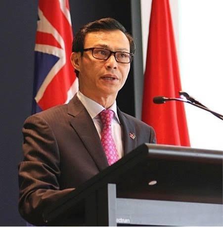 Đại sứ Việt Nam tại Australia Lương Thanh Nghị (Ảnh: ĐSQ Việt Nam tại Australia)