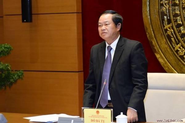 Đại tướng Đỗ Bá Tỵ, Ủy viên Trung ương Đảng, Phó Chủ tịch Quốc hội đạt tỷ lệ phiếu bầu cao nhất tại Lào Cai.