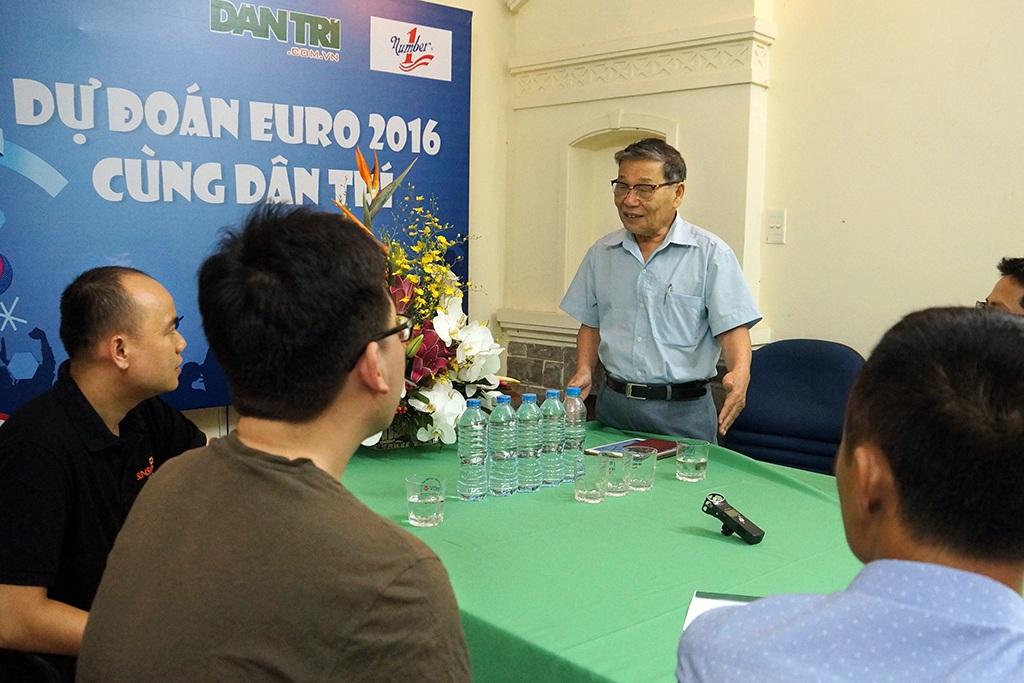 Ông Nguyễn Lương Phán khẳng định chương trình Dự đoán Euro 2016 là tăng cường sự tương tác của báo Dân trí với độc giả khắp cả nước