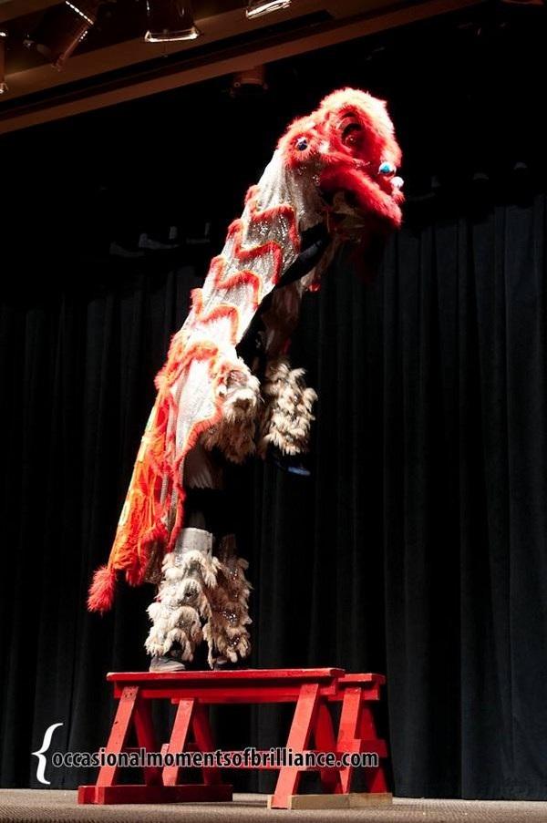 Những tiết mục múa lân đòi hỏi kỹ thuật cao, sự phối hợp nhuần nhuyễn và quan trọng là tình cảm dồn vào mỗi tiết mục.