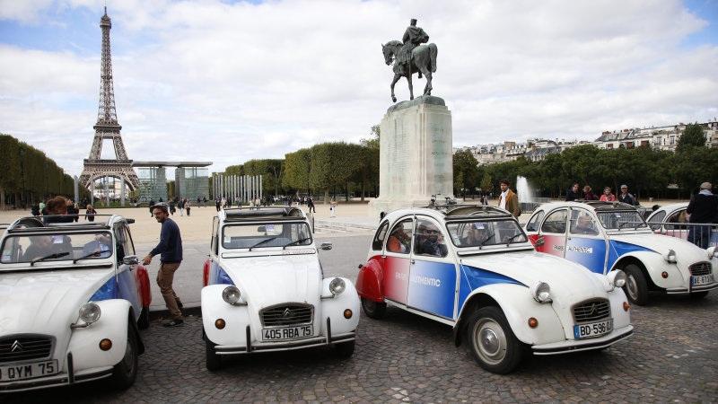 Paris chính thức cấm xe cũ - 1