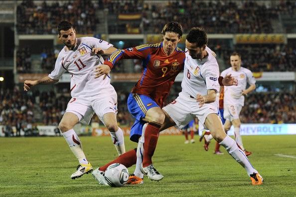Tây Ban Nha luôn thắng CH Séc ở những trận đấu gần đây
