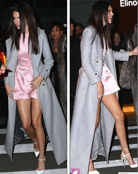 Kendall Jenner nổi bật với vóc dáng gợi cảm và thanh thoát