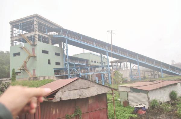 Đại dự án hơn 8.000 tỷ gang thép Thái Nguyên mở rộng nằm phơi nắng phơi mưa khi gần hoàn thành. Ảnh: L.Bằng .