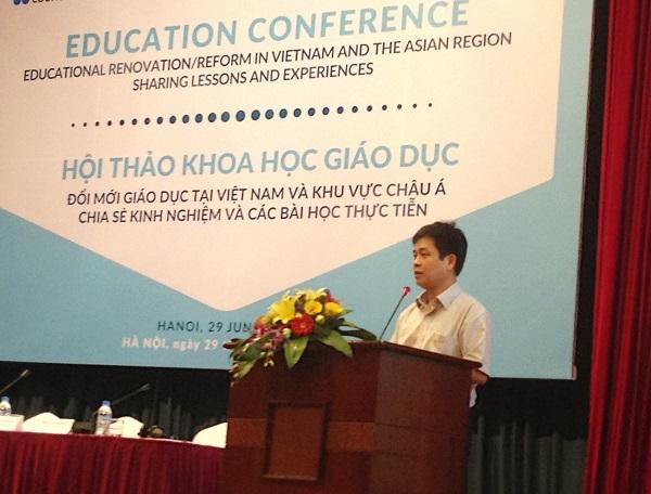 PGS.TS Nguyễn Xuân Thành, Phó vụ trưởng Vụ Giáo dục Trung học, Bộ Giáo dục và Đào tạo.