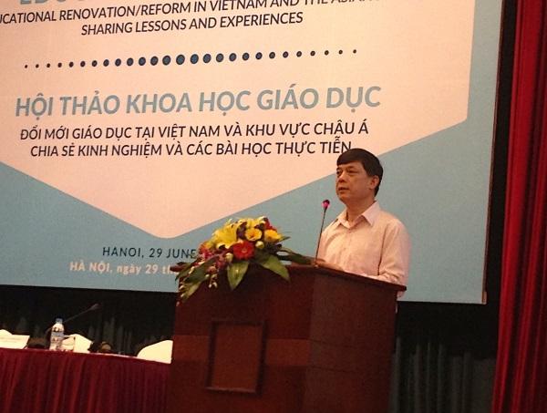 GS.TS Trần Công Phong – Viện trưởng Viện khoa học Giáo dục Việt Nam.